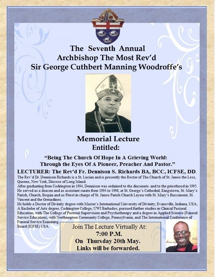 Archbishop Woodroffe Memorial Lecture 2021